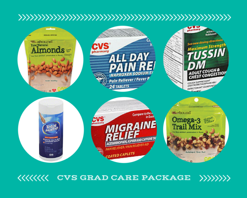 CVS GRAD CARE PACKAGE