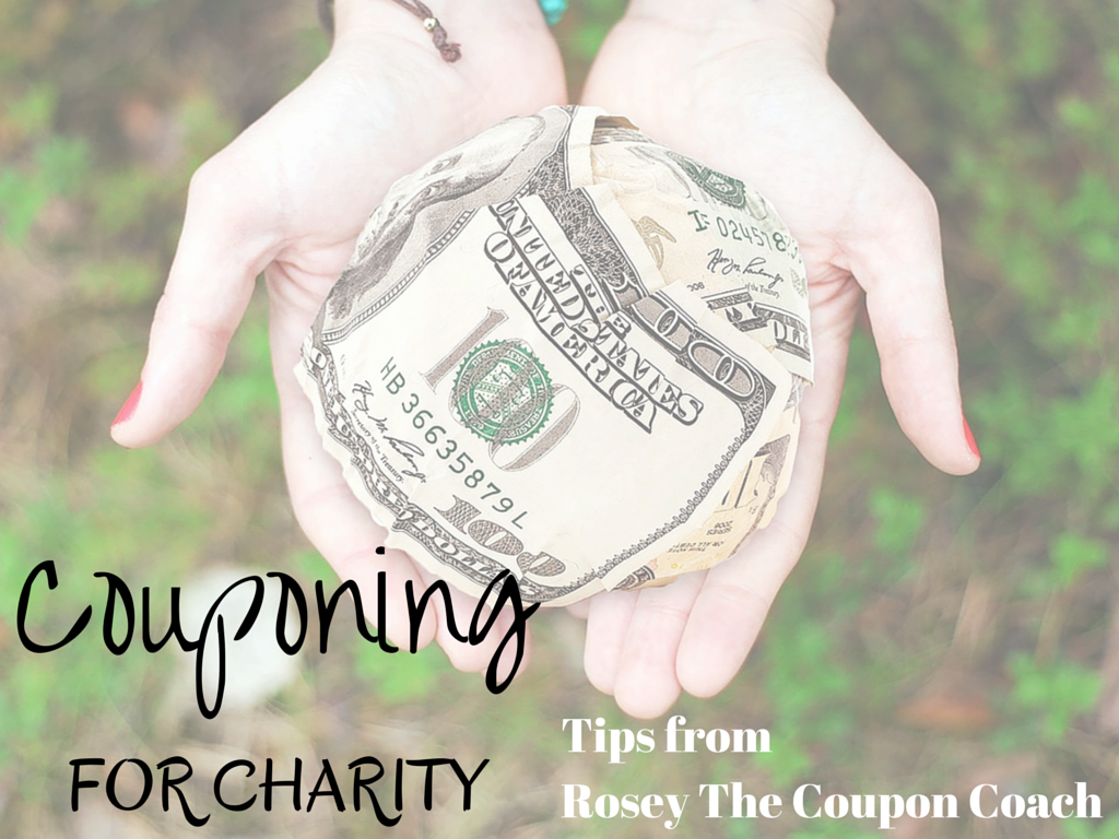 Couponing For Charity