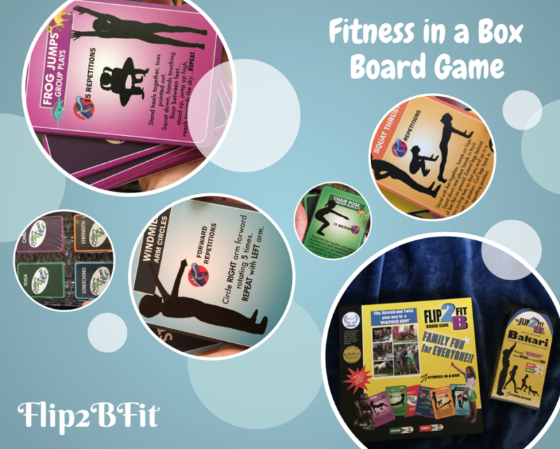 FLIP2BFIT Board Game