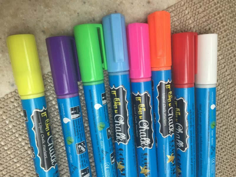 Fun Chalk Markers