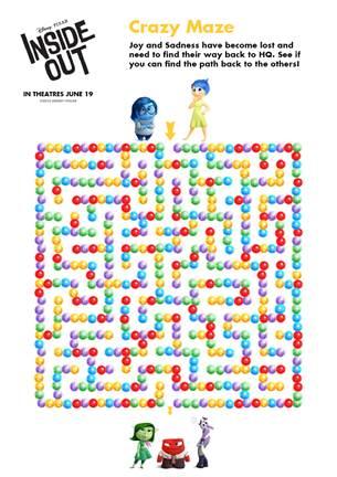 Inside Out Maze