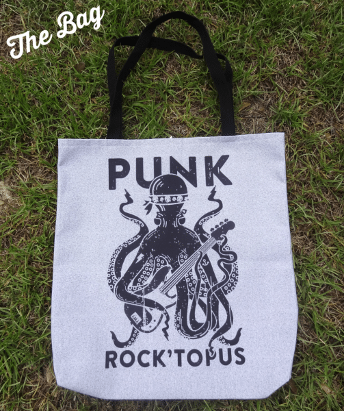Punk Rock'Topus Tote Bag from Look Human