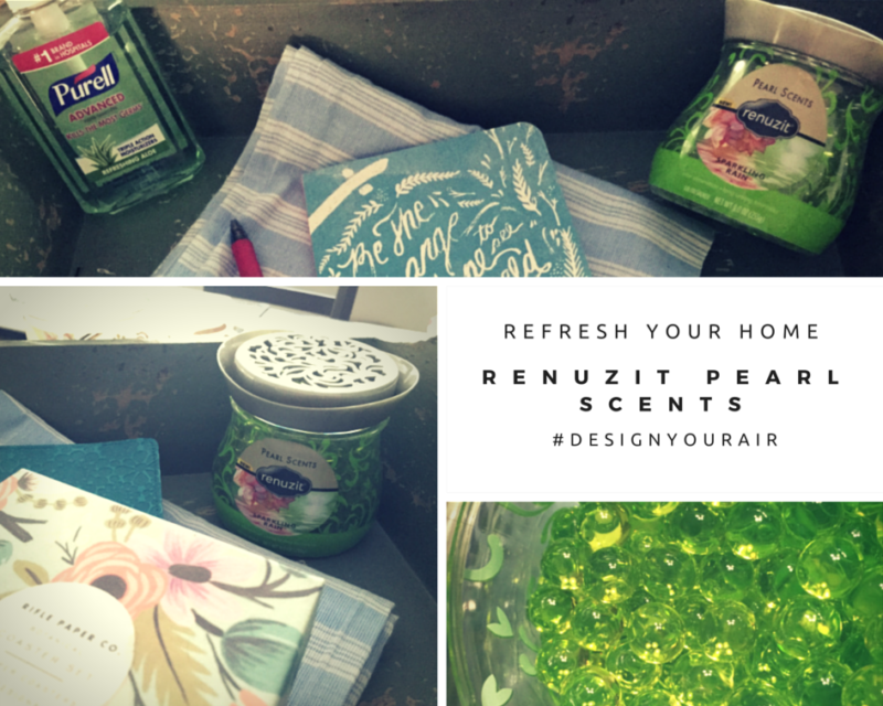 Refresh Your Home With Renuzit Pearl Scents #DesignYourAir