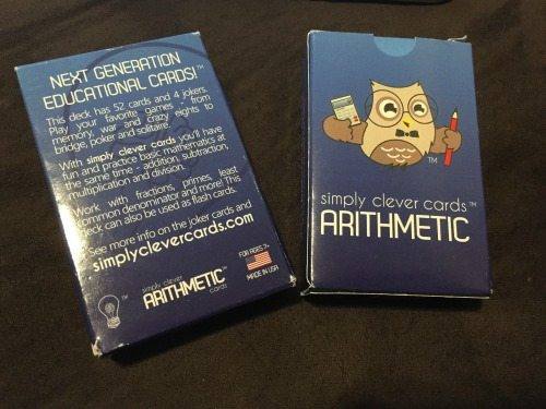 Simply Clever Cards - Arithmetic