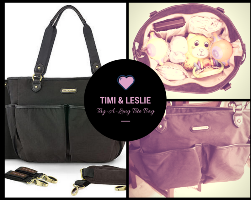 timi & leslie tag a long tote