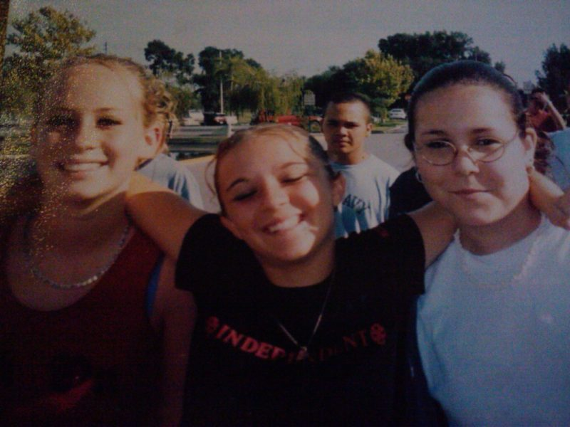 My friends and I in high school not caring about anything but ourselves haha.