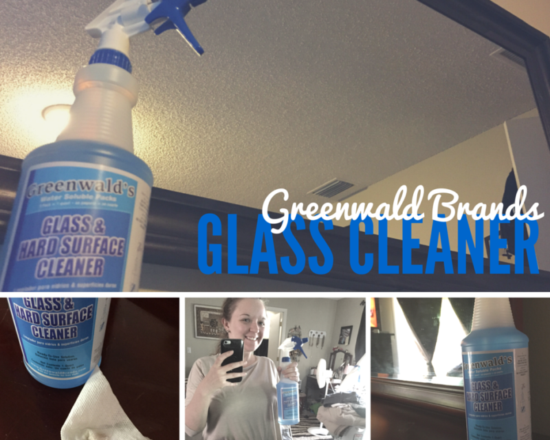 Greenwald Brands Glass Cleaner