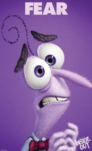 """""""INSIDE OUT"""" (Pictured) FEAR. ©2014 Disney•Pixar. All Rights Reserved."""