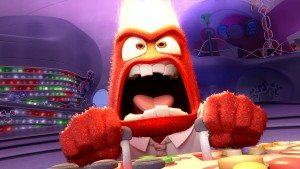 INSIDE OUT –Pictured: Anger. ©2015 Disney•Pixar. All Rights Reserved.