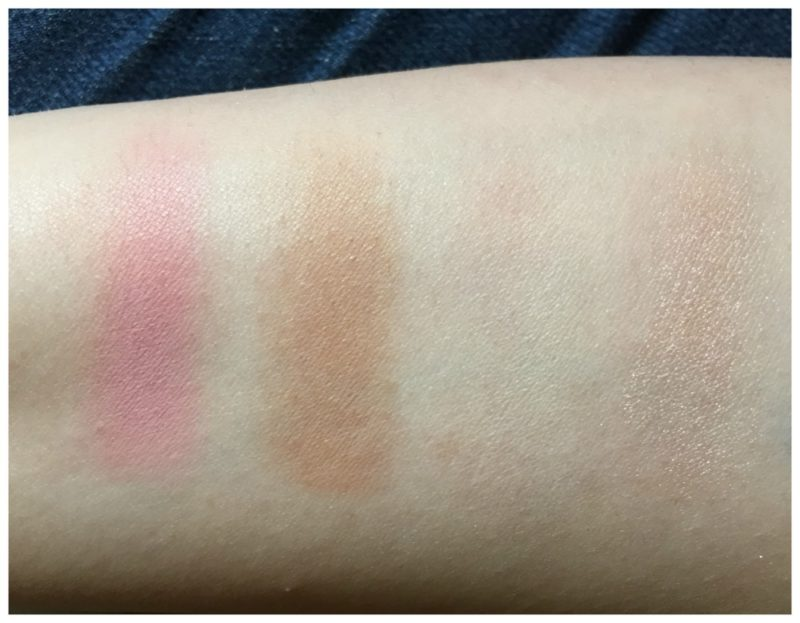 It Cosmetics New Naturally Pretty Face Palette Swatches