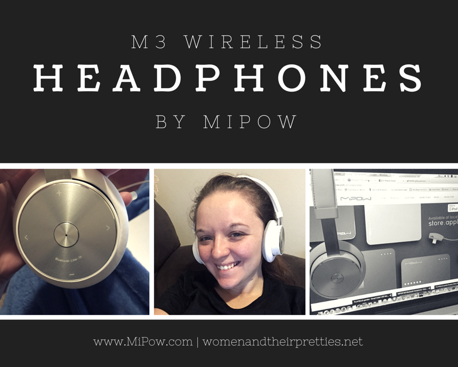 M3 Wireless Headphones by MiPow