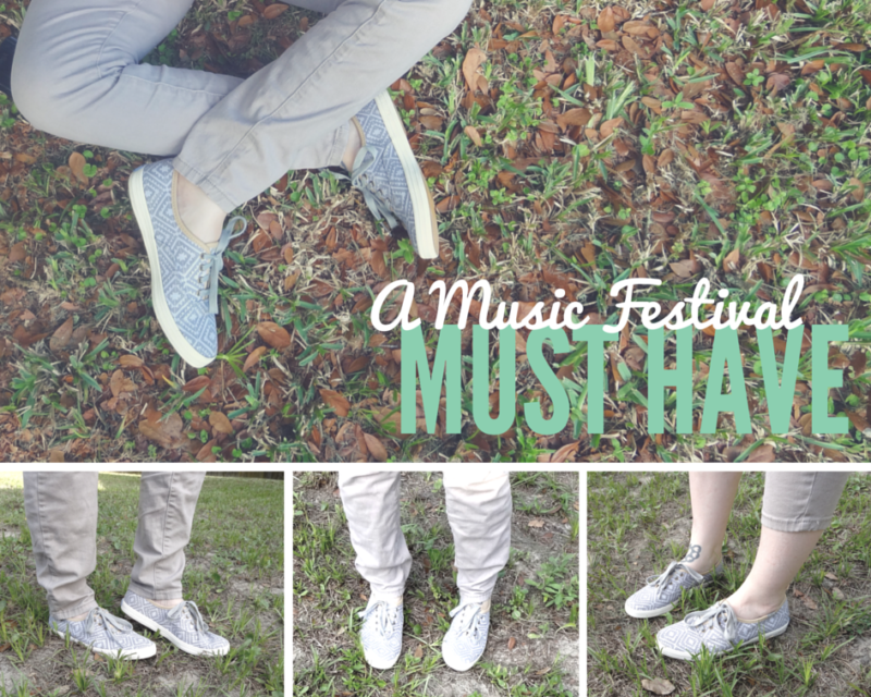 Music festival must have = Keds Champion Tribal