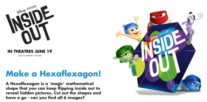 Inside Out Hexaflexagon