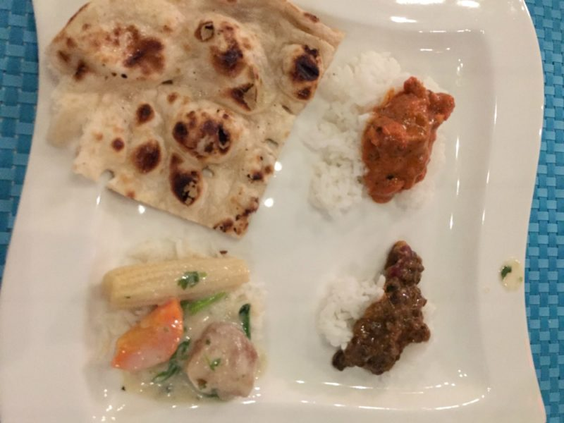 Tabla Restaurant in Orlando - Entrees and Naan