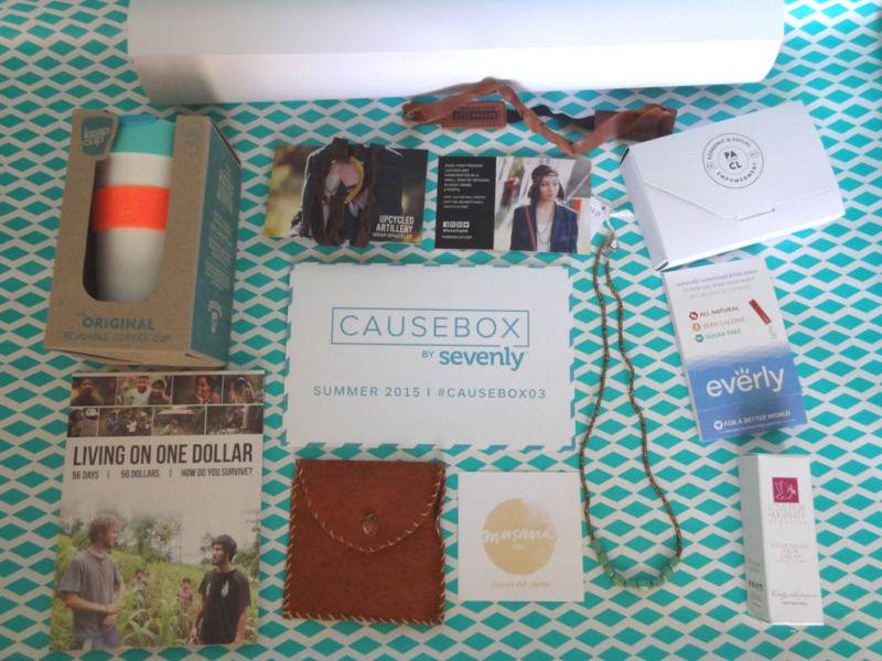 The #CAUSEBOX03 - WHAT'S IN THE BOX