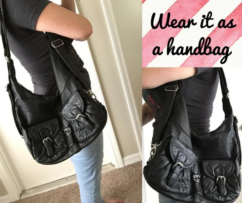 Wear it as a handbag