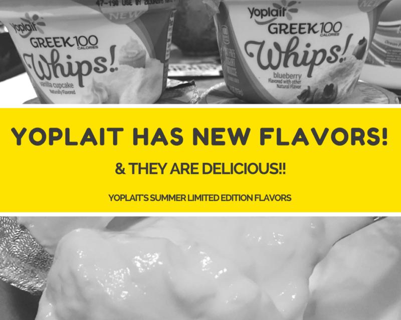 YOPLAIT HAS NEW FLAVORS!