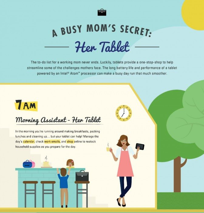A Busy Mom's Secret Part 1