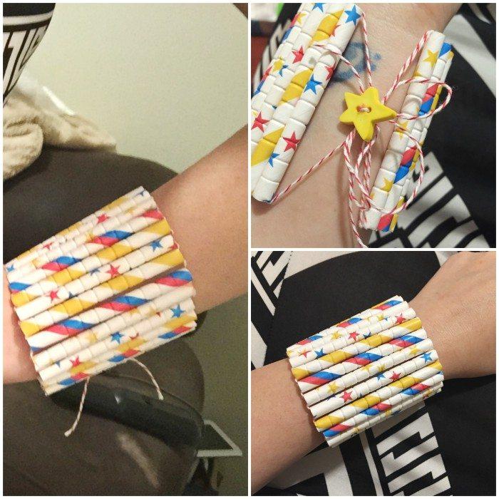 Aardvark Straws DIY Paper Straw Bracelet