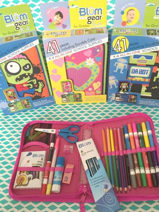 Blum Back to School Kits for Boys and Girls
