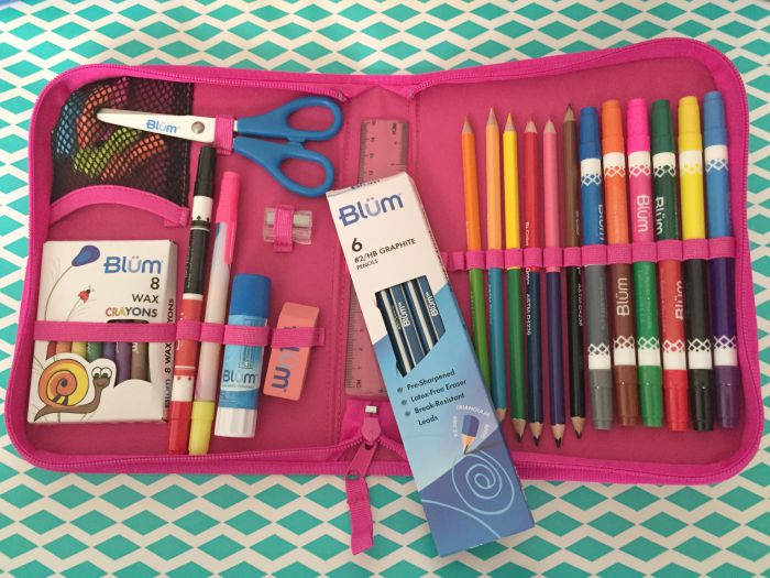 Inside the Blum Back To School Kits
