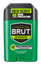 BRUT Overdrive and Stamina 48hr Odor Protection Deodorant ($2.49; Walgreens.com)