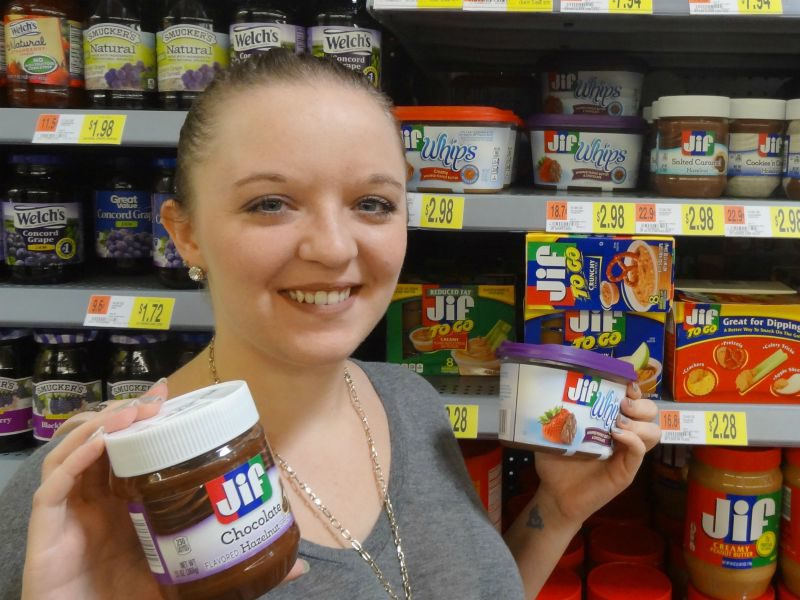 My Snackation Destination is Walmart and my snacks of choice are Smuckers! #SnackationDestination