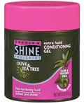 Smooth 'N Shine Olive & Tea Tree RevivOil Extra Hold Conditioning Gel ($2.56; Walmart)