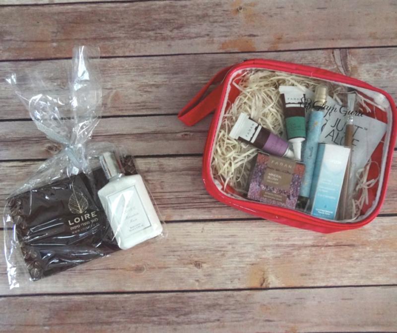 The Glam Guru Beauty Box Review - Israel Beauty #SubBox #Bblogger (1)