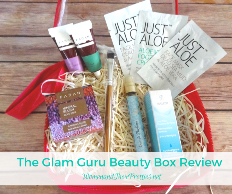 The Glam Guru Beauty Box Review - Israel Beauty #SubBox #Bblogger