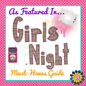 A Girls Night #TwoBlogsFunGuides As Featured Button