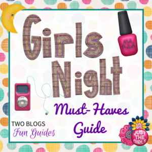 A Girls Night #TwoBlogsFunGuides Sidebar Button