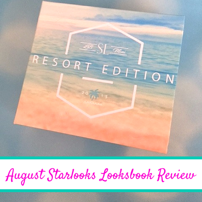 August Starlooks Looksbook Review  #StarlooksAddicts