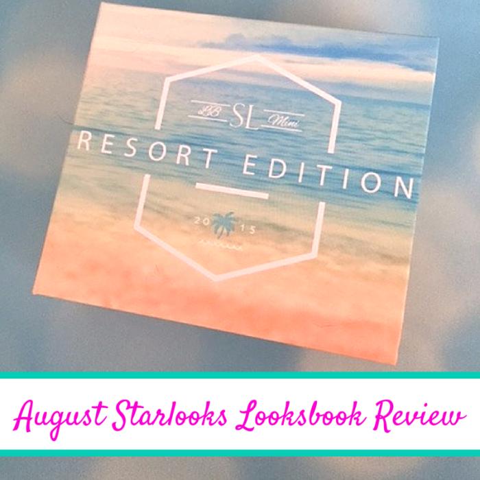 August Starlooks Looksbook Review  #StarlooksAddicts