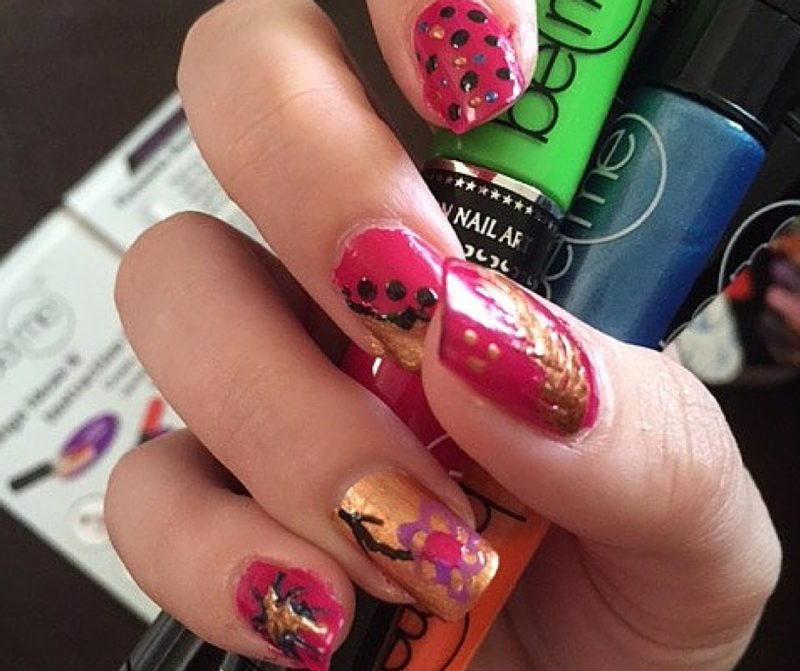 BeMe Nail Art Pens - Harvest Collection Fall nails (1)