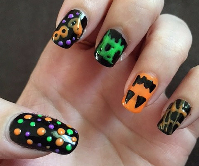 BeMe Nail Art Pens - Harvest Collection Halloween Pens