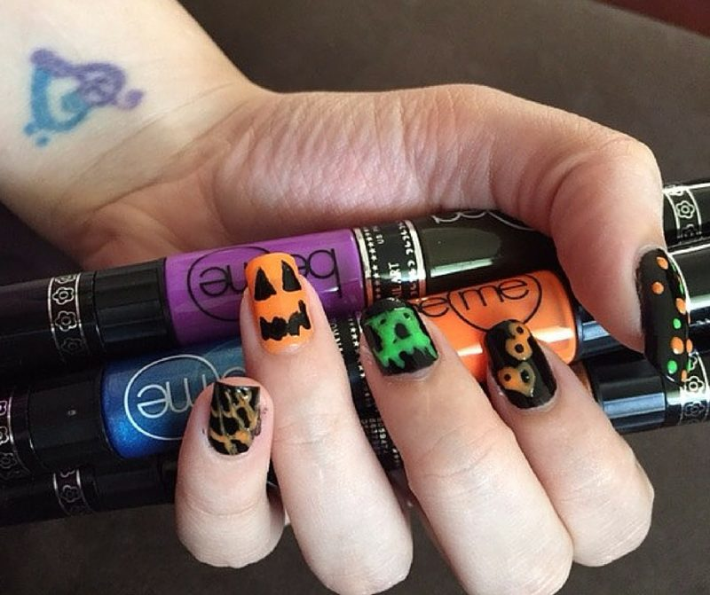 BeMe Nail Art Pens - Harvest Collection Halloween nails