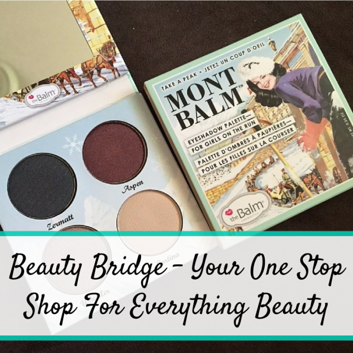 Beauty Bridge - Your One Stop Shop For Everything Beauty - The Mont Balm Beauty Palette Review