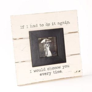 Choose You Frame - Rustic Frame for Fall Wedding