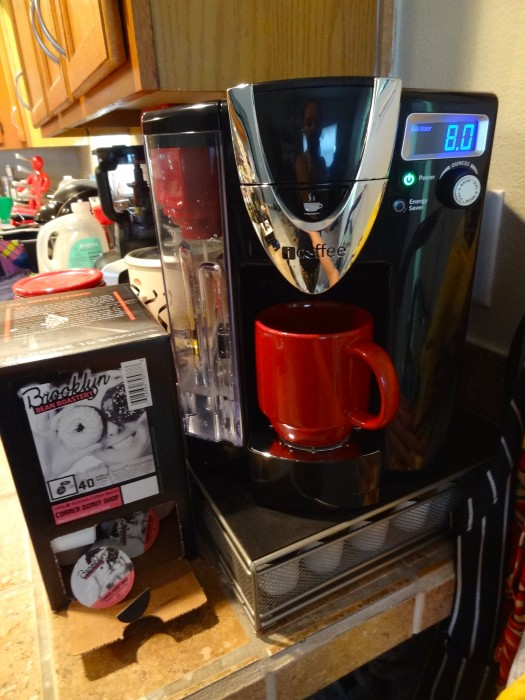 iCoffee Opus Mozart Single-Serve Brewer - K-Cup Compatible