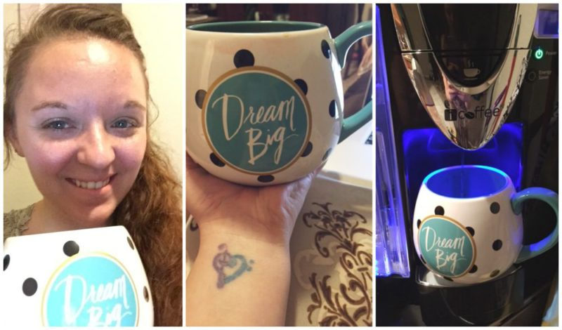 Dream Big Snuggle Mug from Papyrus for Girls Night Guide