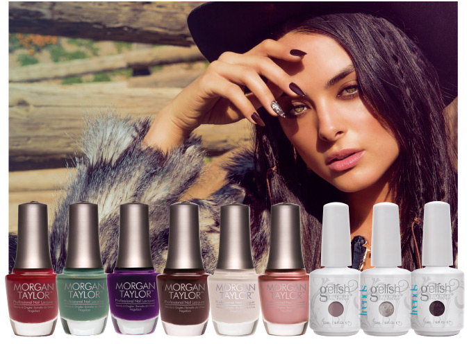 HARMONY_Gelish_MORGAN-TAYLOR_URBAN-COWGIRL-COLLECTION-2015_Poster-and-Shades