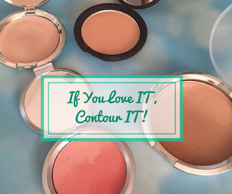 It Cosmetics - Contouring with Ombre Bronzer and Hello Light Illuminator (1)