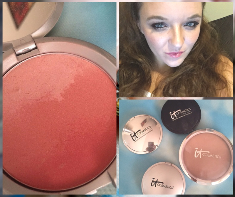 It Cosmetics - Contouring with Ombre Bronzer and Hello Light Illuminator (2)