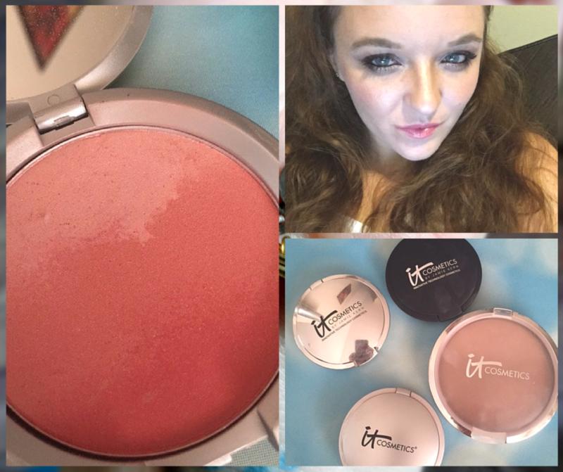 It Cosmetics - Contouring with Ombre Bronzer and Hello Light Illuminator (2)