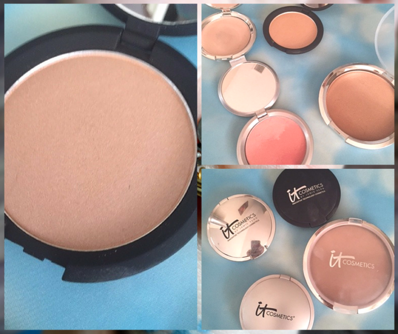 It Cosmetics - Contouring with Ombre Bronzer and Hello Light Illuminator (3)