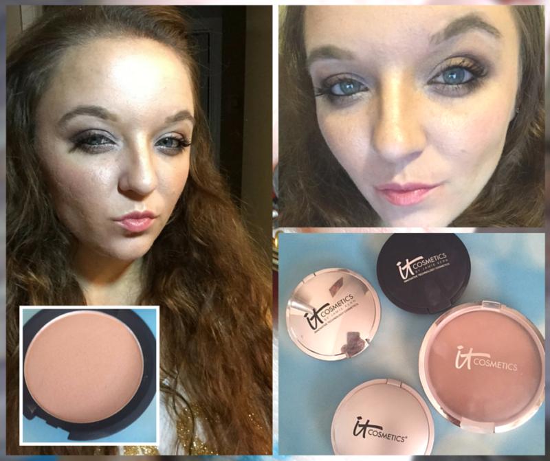 It Cosmetics - Contouring with Ombre Bronzer and Hello Light Illuminator