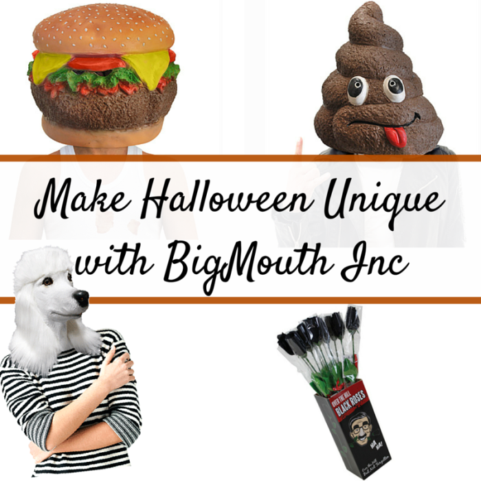Make Halloween Unique with BigMouth Inc