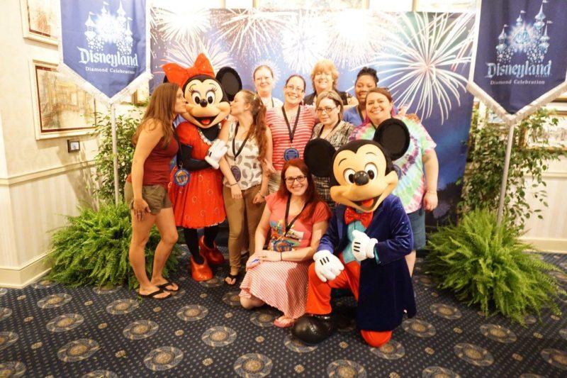 Minnie and Mickey #Disneyland60
