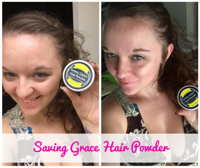 Saving Grace Hair Powder - #BBlogger AFTER (1)